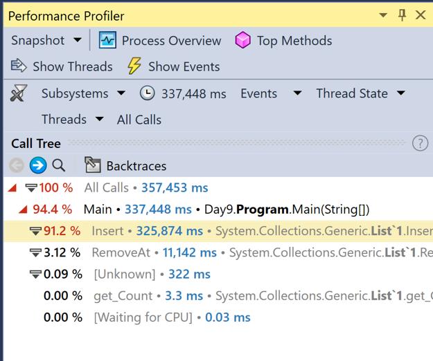 Ozcode Performance Profiler